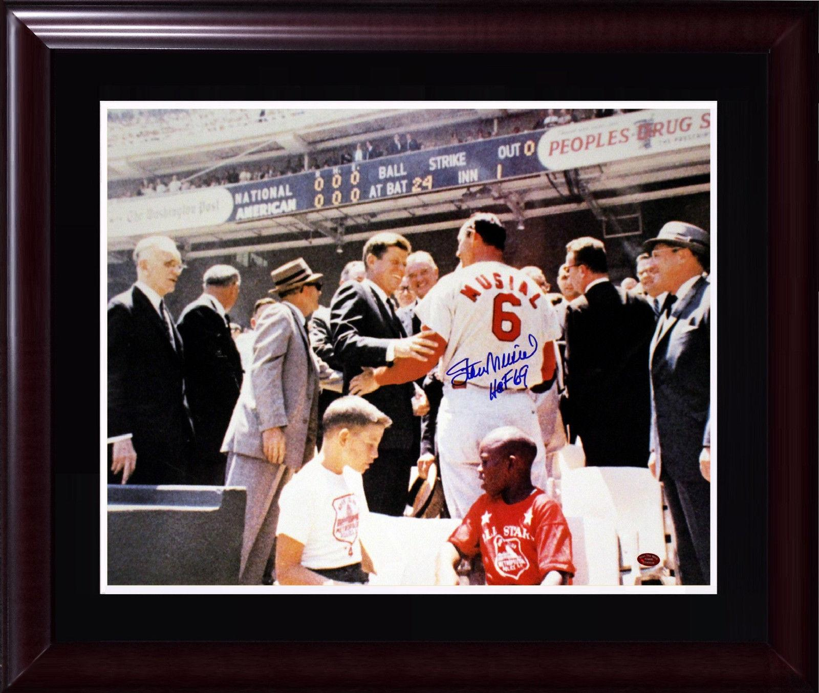 13 Steps for Shooting the Perfect Stan musial jfk photo