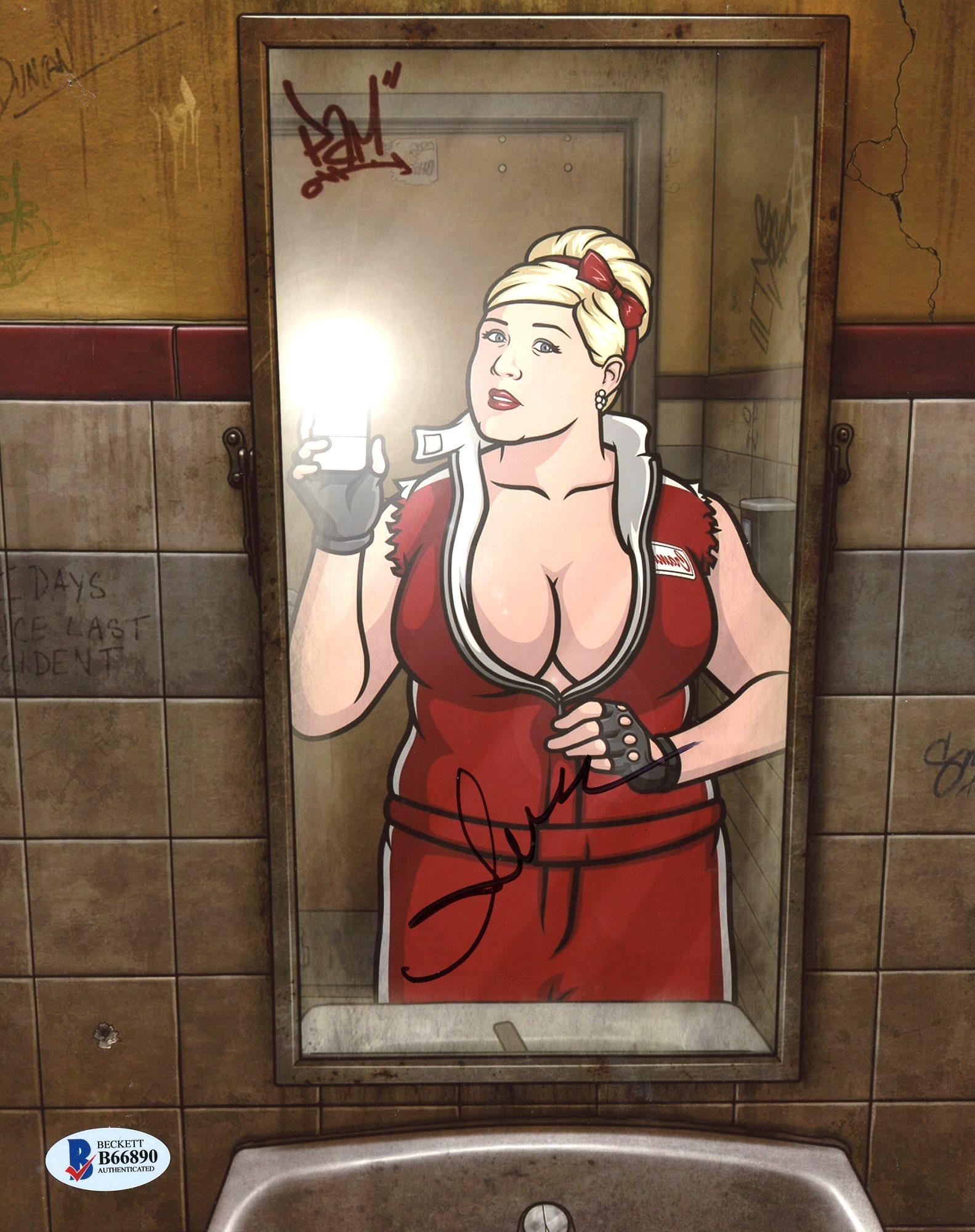 Hot pam from archer naked hardcore comic