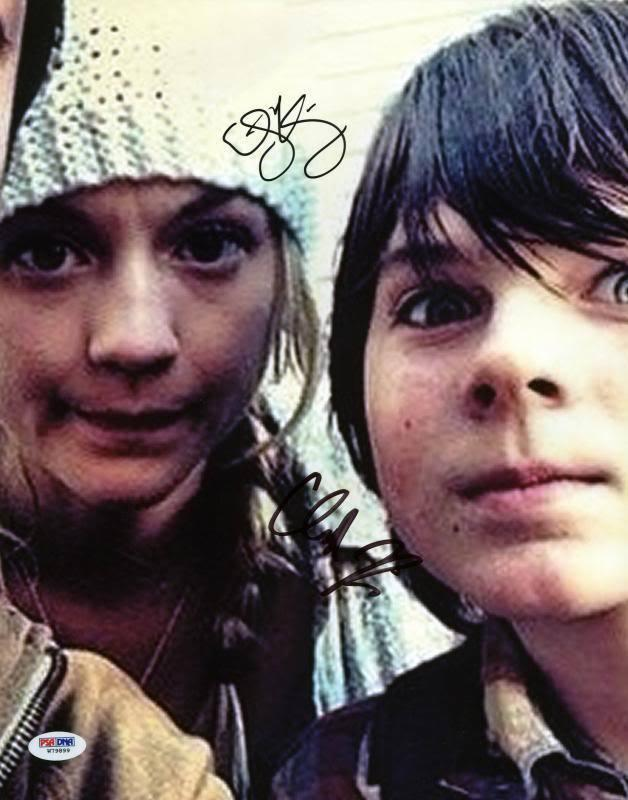 Chandler riggs and emily kinney