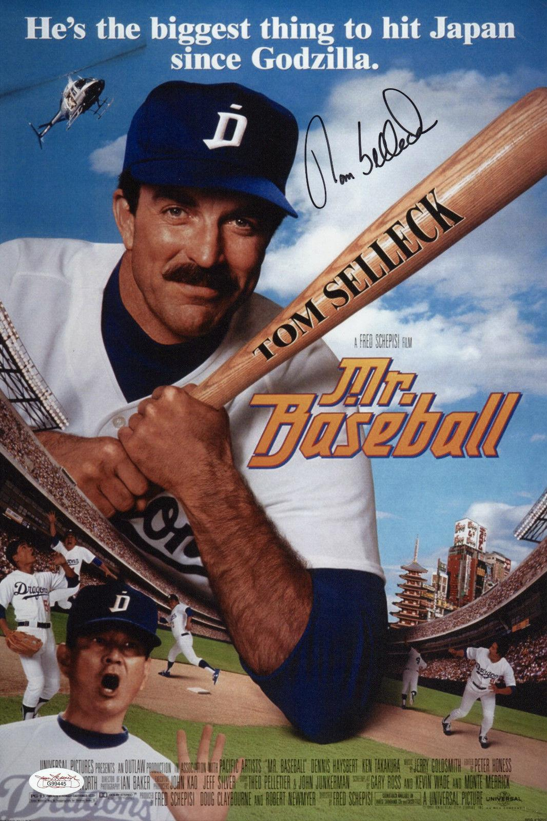 Autographed baseball movie posters