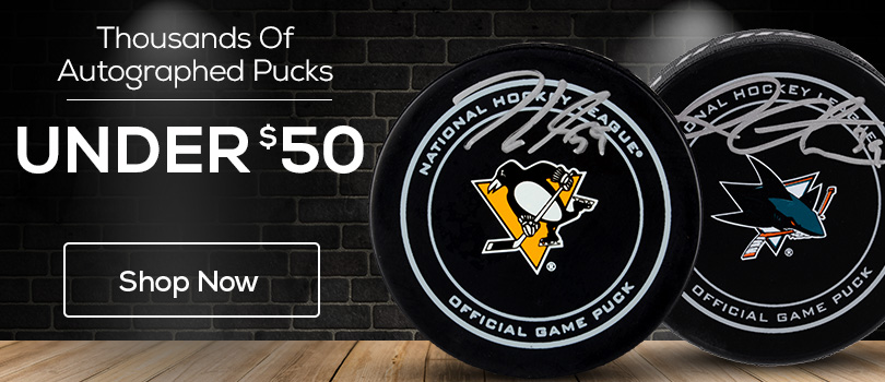 Big Body - Autographed Pucks Under $50