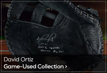 Game Used Page - Ortiz