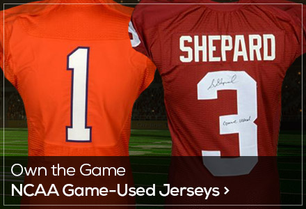 Game Used Page - NCAA Jerseys