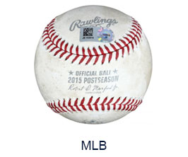 Game Used Page - MLB
