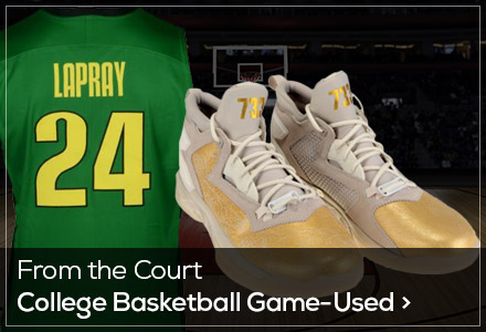 Game Used LLP College basketball