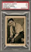 ~ 1922 Boys Cinema ~ HARRY HOUDINI #4 ~ PSA 3 ~ Famous Heroes ~ RARE !