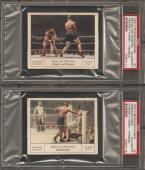 ~ 1927 Palmin Boxen #1 ~ JACK DEMPSEY vs GENE TUNNEY ~ PSA Authentic ~ Rare !!