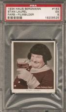 "~ 1934 Haus Bergmann Cigarettes ~ OLIVER HARDY ""Error"" ~ PSA 5 ~ American Icon !"