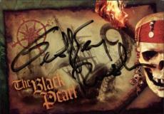 ???? Pirates Of The Caribbean Signed Trading Card Dead Mans Chest Disney Id #319