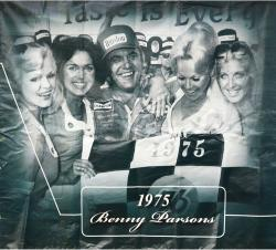 2009 Daytona 500 Memorable Moments 85'' x 83'' 1975 Benny Parsons Backstretch Banner Panel  - Mounted Memories