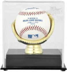 Boston Red Sox 2013 MLB World Series Champions Gold Glove Baseball Display Case - Mounted Memories