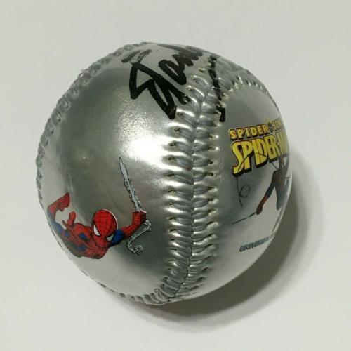Stan Lee Signed Universal Studios Spider-Man 3rd Edition Marvel Baseball PSA