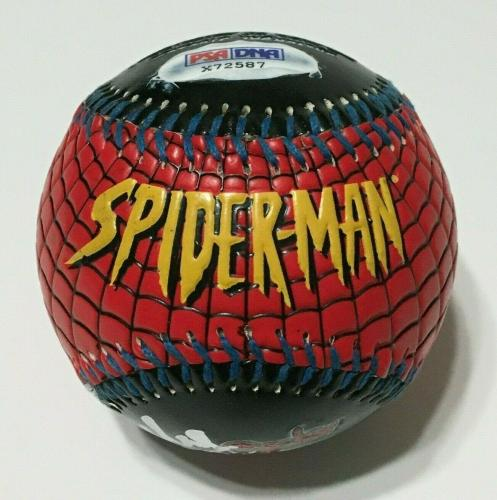 Stan Lee Signed Universal Studios Spider-Man 1st Edition Marvel Baseball PSA