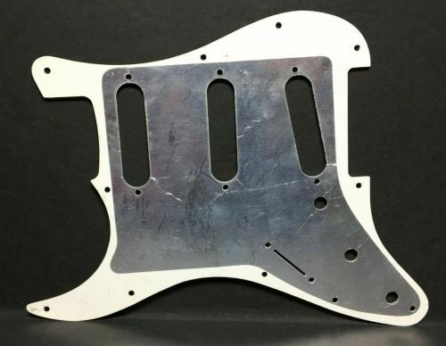 """Robert Smith Signed Guitar Pickguard *The Cure """"What Is This"""" PSA Q14724"""