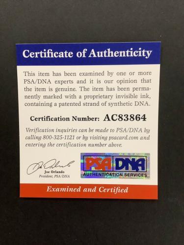 Roger Daltrey Signed Photo PSA/DNA 11x14 Pete Townshend The Who Autograph Close