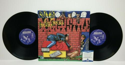 Snoop Dogg Signed 'Doggystyle' Vinyl Record Album *Gin And Juice *Lodi Dodi BAS