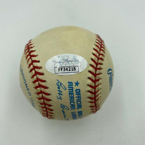Francis Ford Coppola Signed Autographed Baseball With JSA COA The Godfather