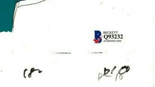 "ANTHONY DANIELS Signed Star Wars ""DROIDS"" Cartoon Animation Cel BAS #Q93232"