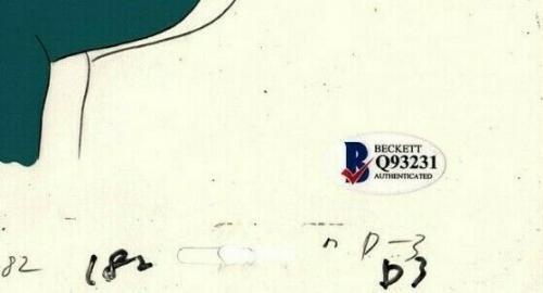 "ANTHONY DANIELS Signed Star Wars ""DROIDS"" Cartoon Animation Cel BAS #Q93231"
