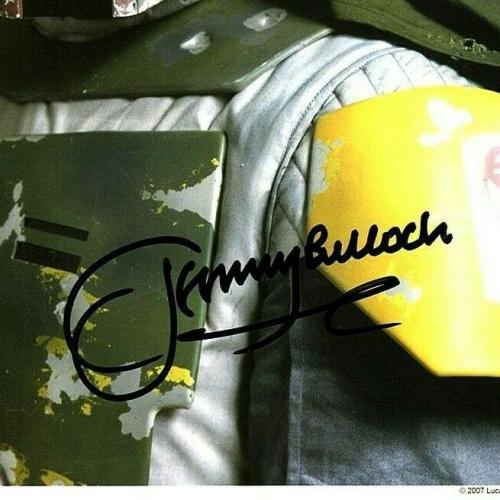 "JEREMY BULLOCH Signed STAR WARS ""Boba Fett"" 8x10 Official Pix Photo BAS #Q93328"