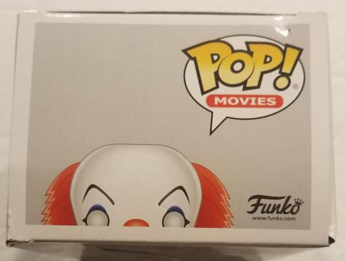 TIM CURRY Signed IT Pennywise FUNKO POP! AUTO BAS COA