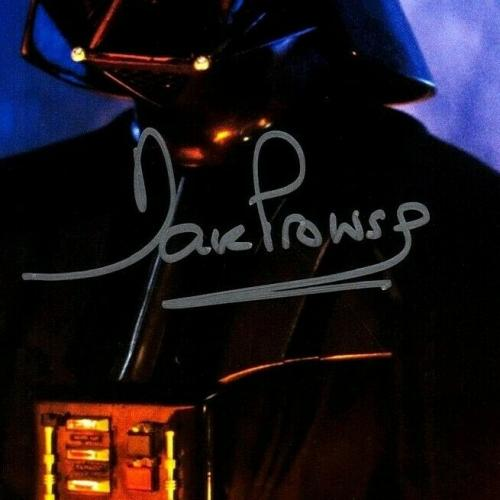"DAVE PROWSE Signed ""Darth Vader"" STAR WARS 8x10 Official Pix Photo BAS #Q69600"