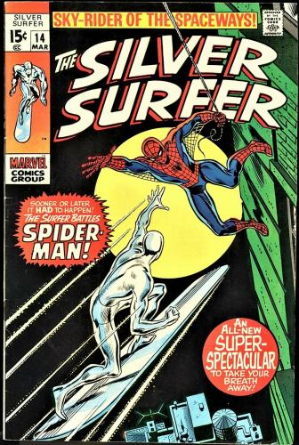 Silver Surfer #2, 5-18, 1986 Marvel Silver Age Issues, Stan Lee Scripts,