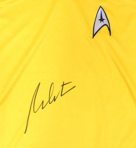 William Shatner Autographed Star Trek Uniform Shirt JSA Stock #159207