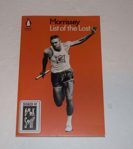 Morrissey Signed Autographed LIST OF THE LOST Paperback Book The Smiths COA