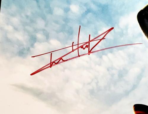 "TOM HOLLAND Signed Autograph ""SPIDER-MAN"" 20x30 Photo Beckett BAS Witness M14311"