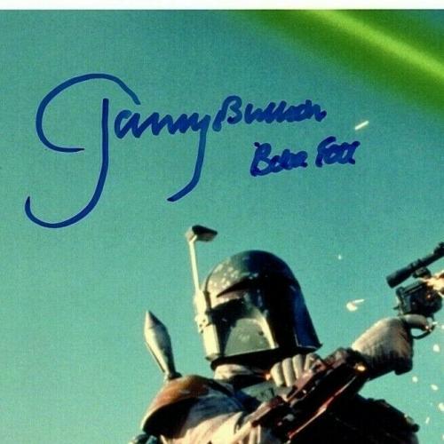 JEREMY BULLOCH Signed STAR WARS Boba Fett 8x10 Official Pix Photo PSA/DNA