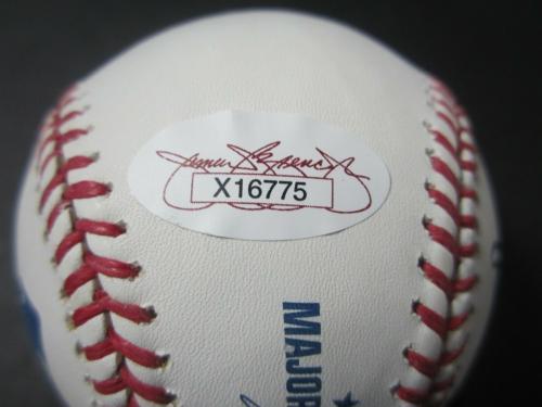 Bill Clinton Signed Baseball - President POTUS OMLB JSA FULL LETTER