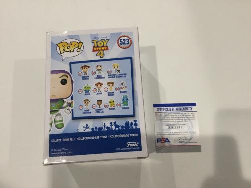Tim Allen Signed Autographed Buzz Lightyear Toy Story Funko Pop PSA DNA COA a