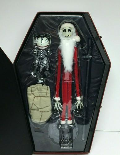 Chris Sarandon Signed Nightmare Before Christmas Santa Jack Action Figure PSA