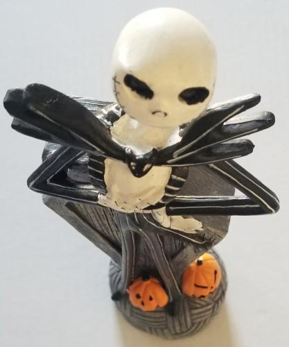 CHRIS SARANDON Signed Disney Nightmare Before Christmas JACK Figurine BAS COA