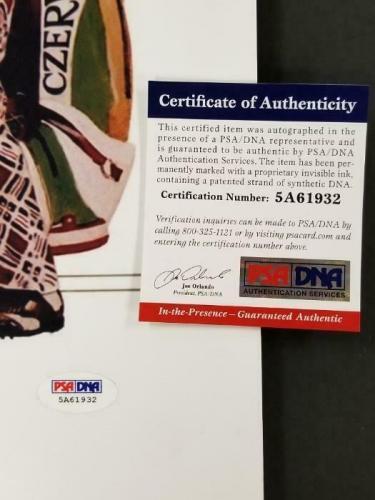 Cindy Morgan signed Caddyshack 16x20 Photo #1 Long Inscription (C) ~ PSA/DNA COA