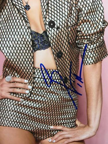 Nina Dobrev Signed 11x14 Photo *Model *Actress PSA AH20702