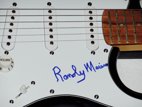 Randy Meisner Autographed Guitar (eagles) - W/ Coa!