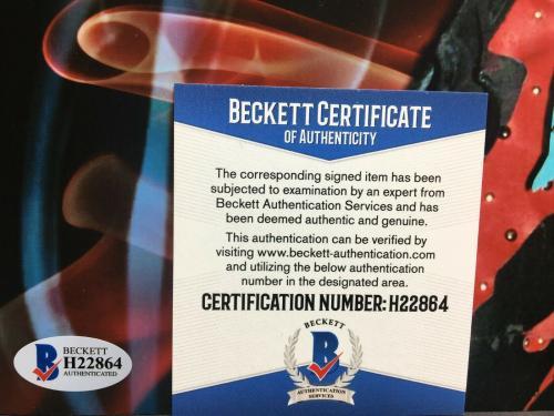 Vince Neil Signed 11x14 Photo *Motley Crue *Musician BAS Beckett H22864