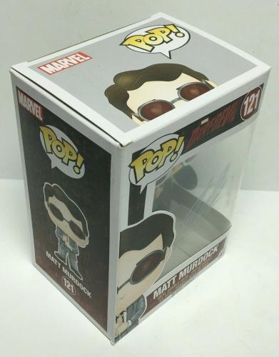 Stan Lee Signed Daredevil Murdock Marvel Funko Pop #121 Excelsior Approved COA