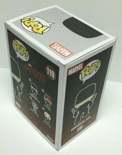 Stan Lee Signed Daredevil Marvel Funko Pop #119 Excelsior Approved COA