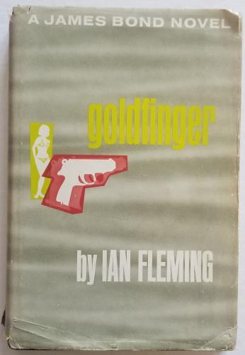 ROGER MOORE Signed JAMES BOND GOLDFINGER Fleming Book PSA/DNA COA AUTOGRAPH