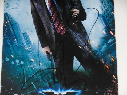 Aaron Eckhart Autographed 8x10 Color Photo (framed & Matted) - Batman: Two Face!