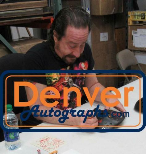 Ari Lehman Autographed Friday The 13th Black Mask Jason Never Dies JSA 26209