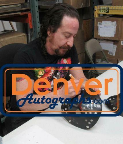 Ari Lehman Autographed/Signed Friday The 13th Black Mask First Jason JSA 26206