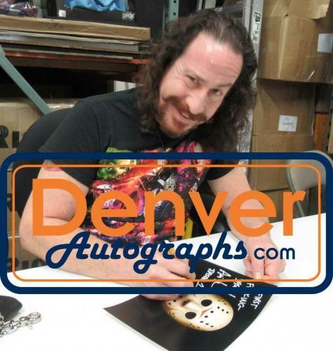 Ari Lehman Autographed/Signed Friday The 13th 8x10 Photo First Jason JSA 26218