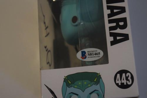 Dan Harmon Signed Rick and Morty KIARA 443 Funko Pop Figure Beckett COA