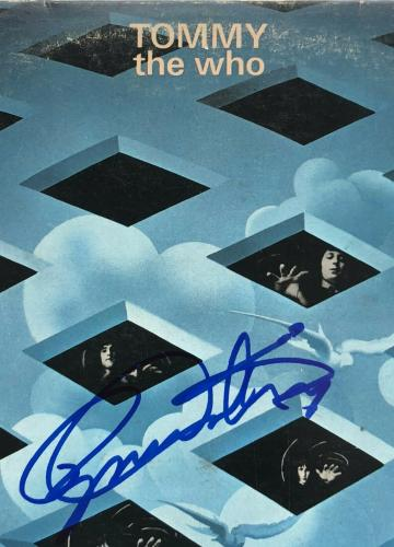"""The Who """"TOMMY"""" Vinyl Record Album signed by Daltrey & Townshend BAS COA"""