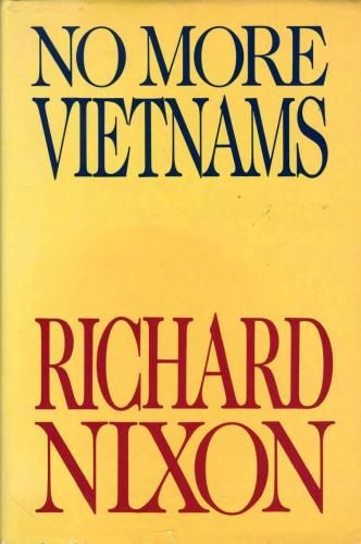 Richard Nixon JSA Coa Signed Book No More Vietnams Autograph