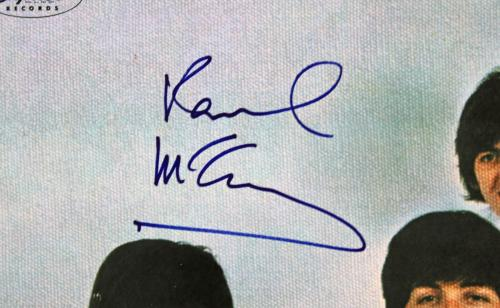 Paul McCartney Signed Yesterday & Today Album Cover PSA/DNA #Q02568